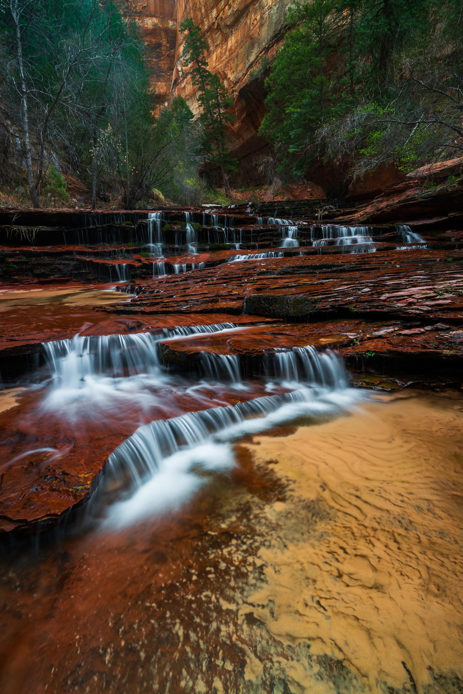 Cascadeing Falls Zion