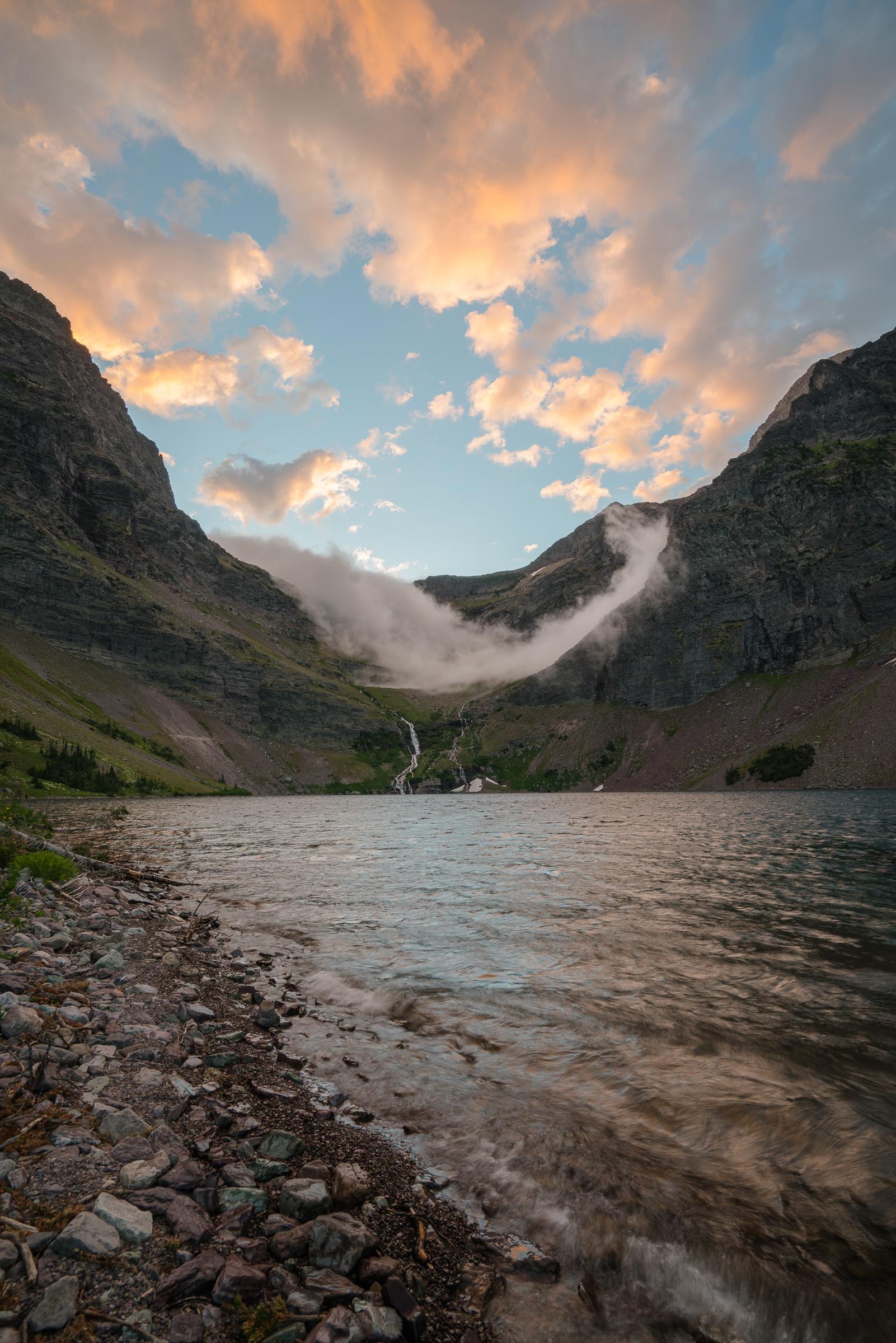 Lake Ellen Swirling Sunrise