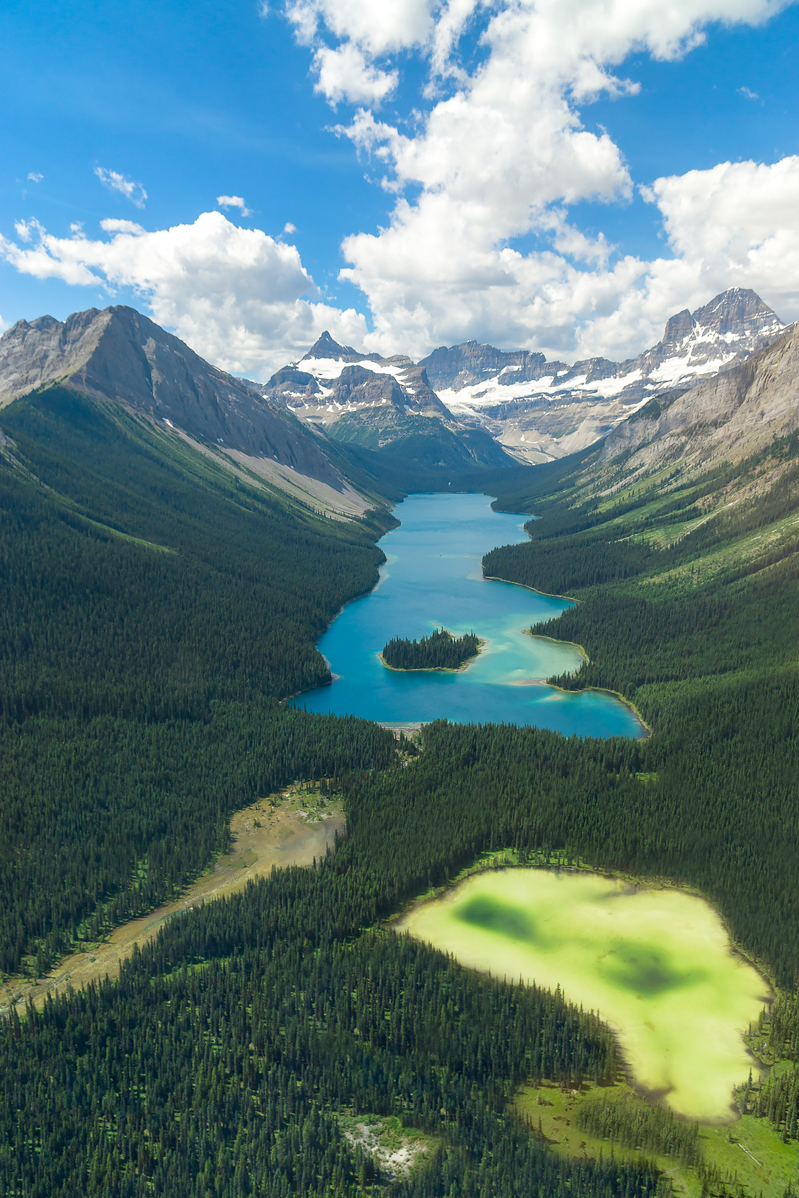 Marvel Lake Aerial_