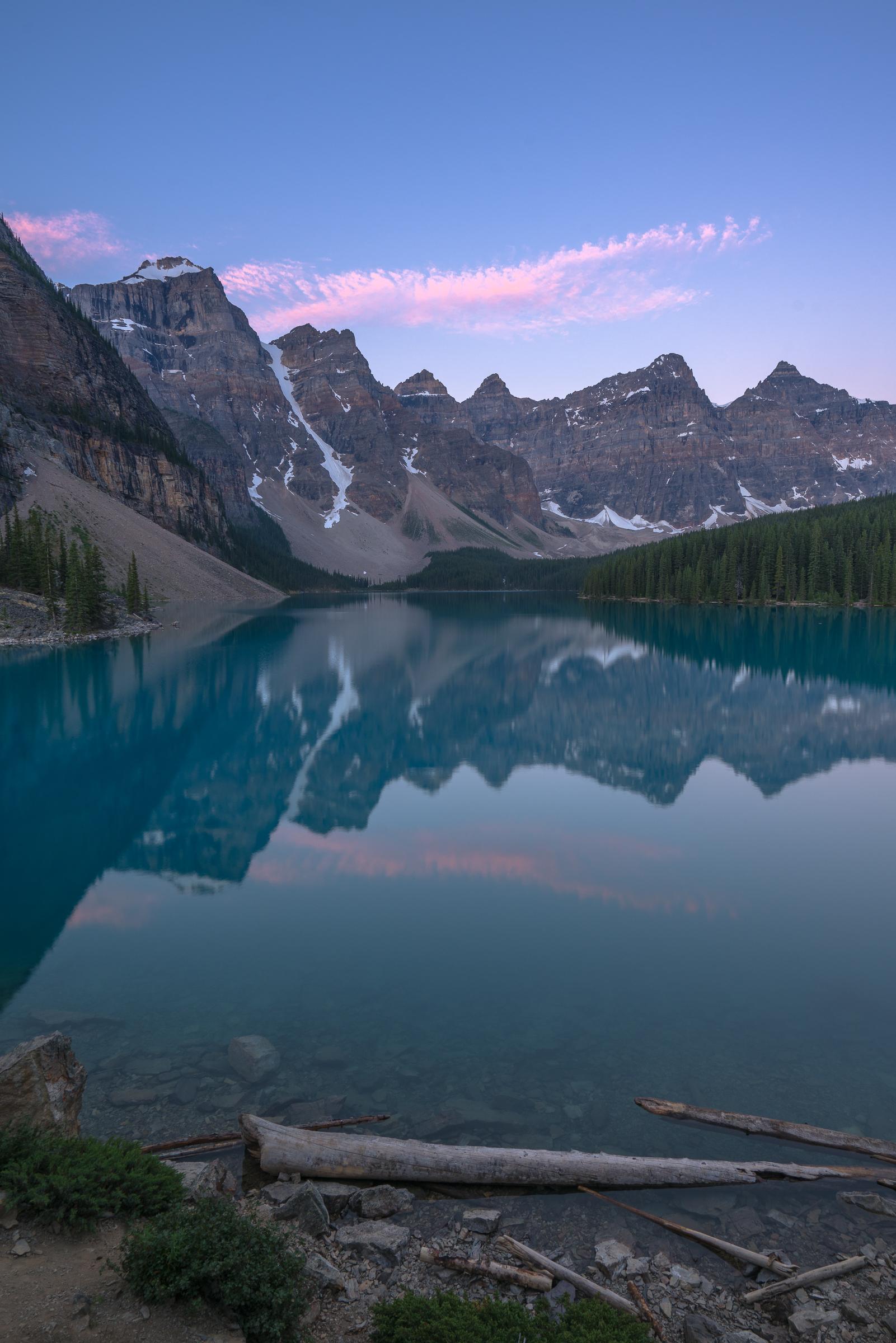 Moraine Lake Before Sunrise