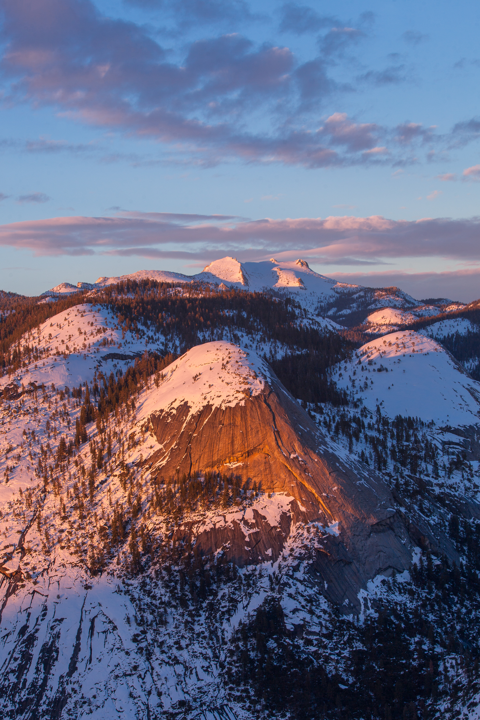 North Dome Sunset 2