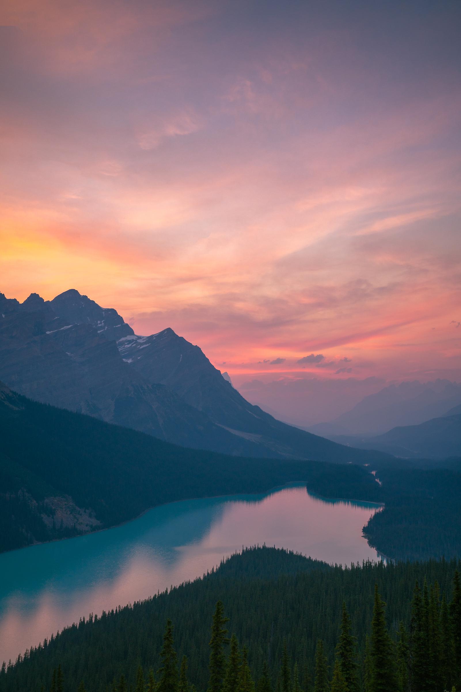 Peyto Sunset_