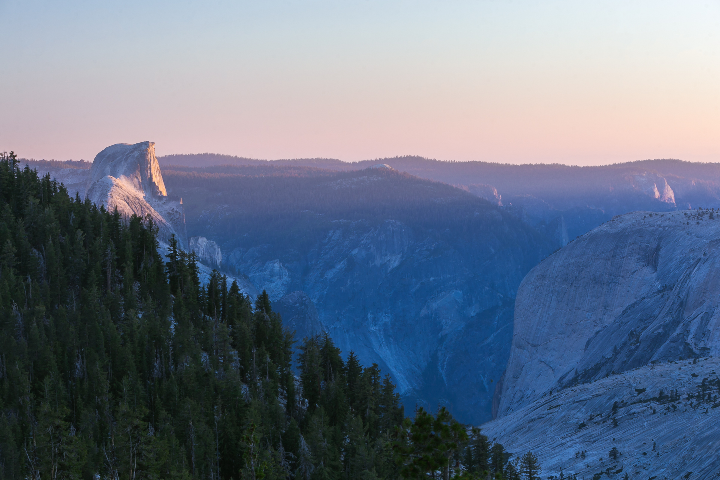Sunset From Toulume Canyon