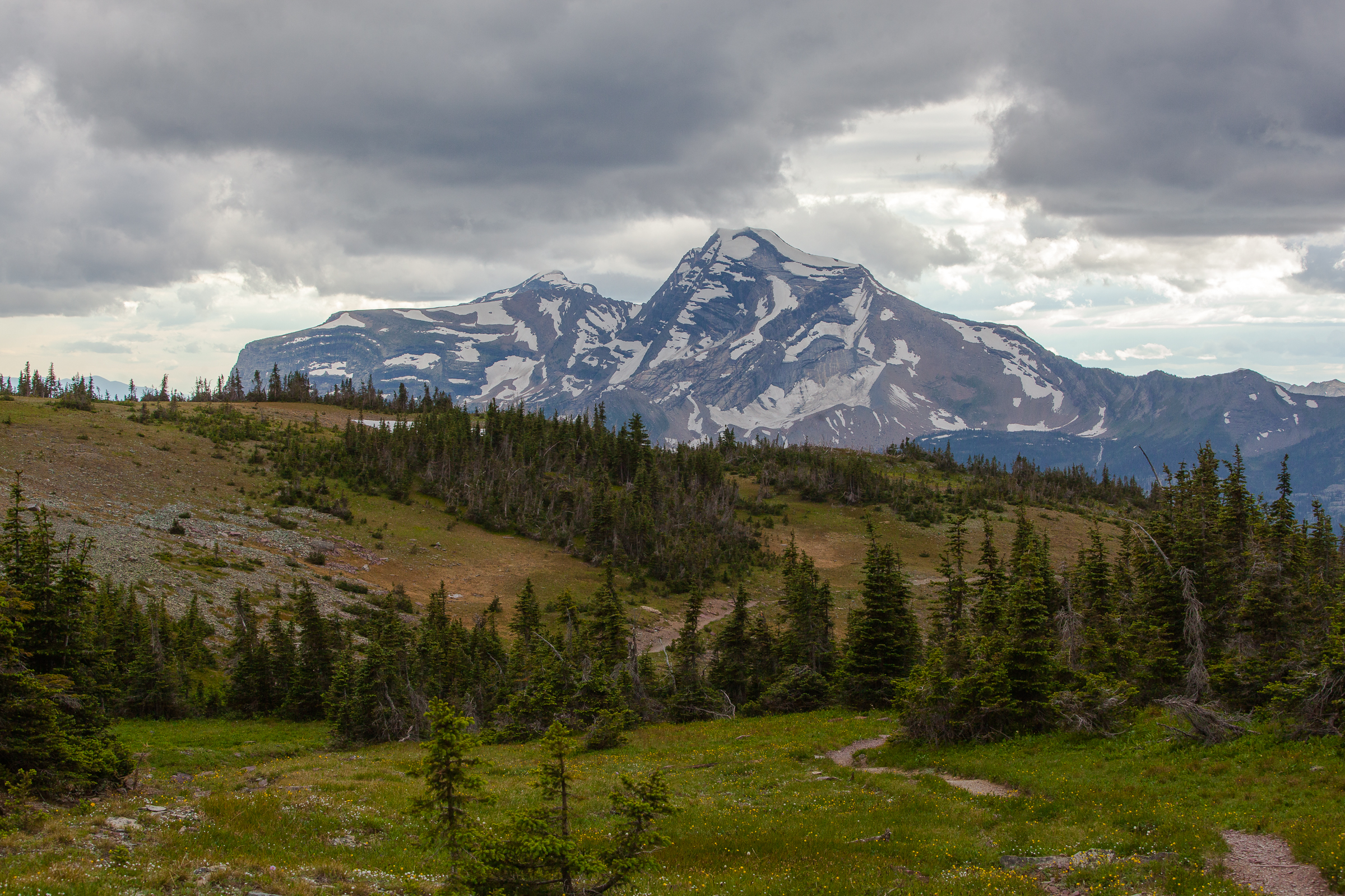 Stormy Divide Trails