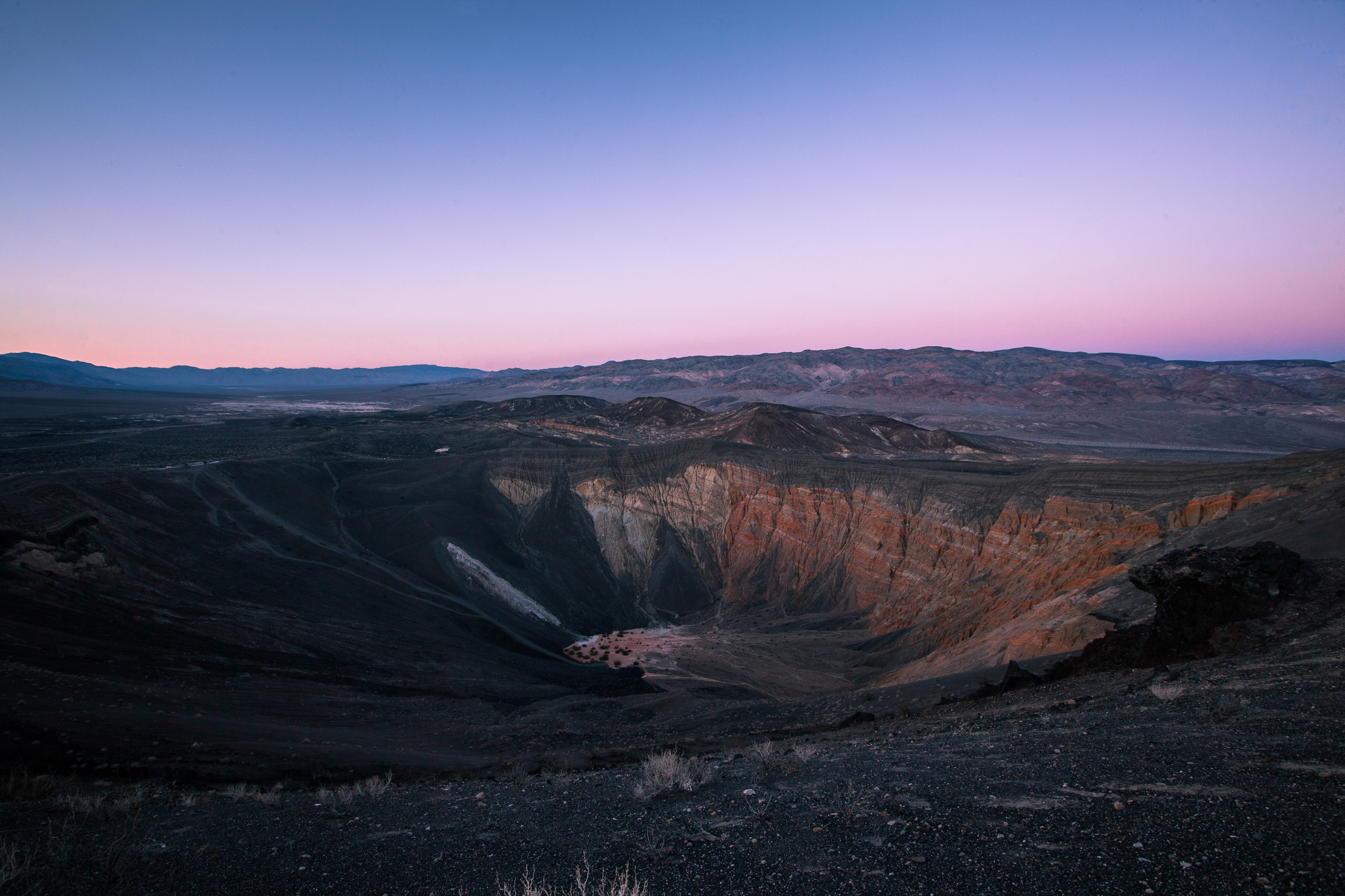Uhebe Crater