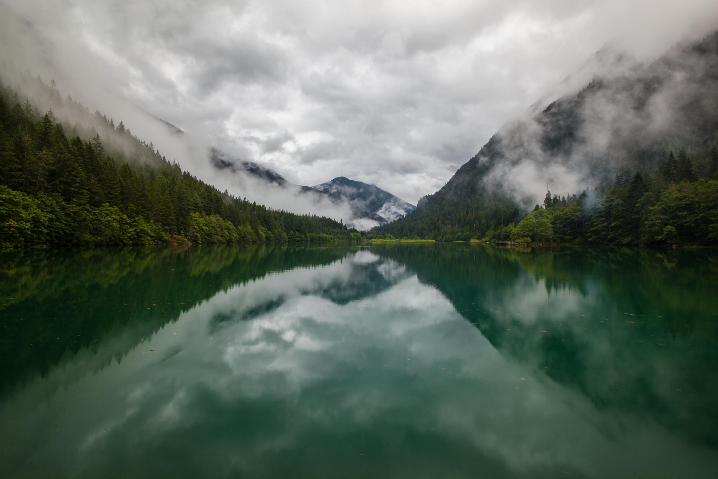 Diablo Lake Reflections