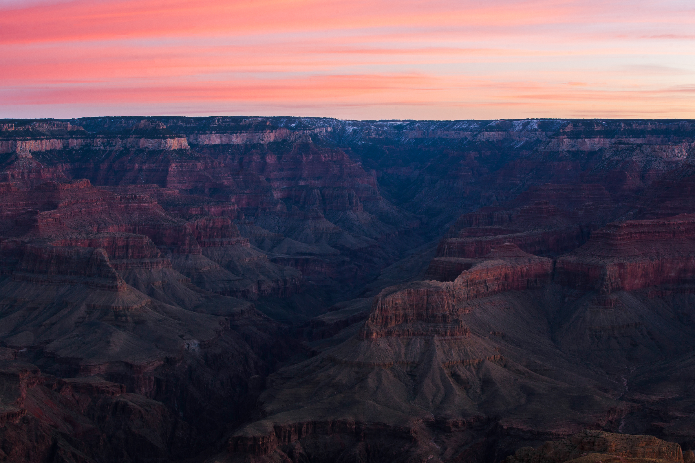 Last Layers at the Grand Canyon